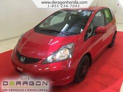2014 Honda Fit LX + PROPRIETAIRE UNIQUE + BIEN ENTRETENU