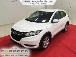 Honda HR-V LX + MANUEL + 2 ROUES MOTRICES + AUCUN ACCIDENT  2016