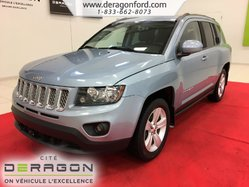 Jeep Compass NORTH + 4X4 + CUIR + ROUES 17