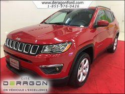 2018 Jeep Compass NORTH 4X4 MAGS CUIR AUTO 9 VITESSES