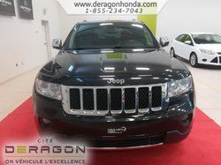 2013 Jeep Grand Cherokee OVERLAND + 4RM + HEMI 5.7L + AUCUN ACCIDENT