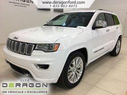 Jeep Grand Cherokee OVERLAND V8 HEMI NAV TOIT PANO MAGS 20P ANGL MORTS  2018
