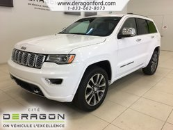 Jeep Grand Cherokee OVERLAND 4X4 TOIT PANO NAV CAMERA DEMARREUR HITCH  2018