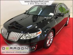 Lincoln MKS ECOBOOST + ULTIMATE PACK + AWD + TOIT + GPS  2012