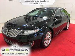2012 Lincoln MKS AWD ECOBOOST NAV TOIT OUVRANT CAMERA MAGS 20P