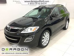 Mazda CX-9 GT + AWD + 7 PASSAGERS + CUIR + TOIT OUVRANT  2010