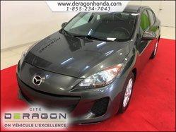 Mazda Mazda3 GS-SKY MANUELLE + AIR CLIMATISE + CRUISE CONTROL  2012