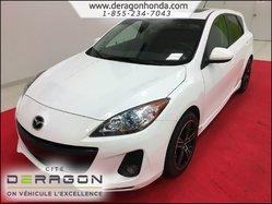 2012 Mazda Mazda3 GS-SKY SPORT 2L + BAS KILO + VITRES TEINTEES