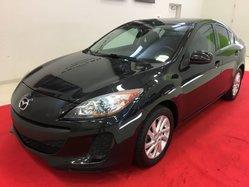Mazda Mazda3 GS-SKY + UN PROPRIO + AUCUN ACCIDENT + DÉMARREUR  2012