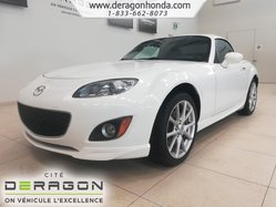 05434fa388e 2012 Mazda MX-5 GT+BAS KILO+CUIR+SIEGES CHAUFFANTS+AIR CLIMATISE GT+LOW  MILLAGE+LEATHER+HEATED SEATS+