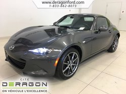 Mazda MX-5 GT RF CONVERTIBLE MANUELLE NAV CUIR LANE ASSIST  2017