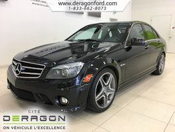2011 Mercedes-Benz C-Class C63 AMG BAS KILO HARMAN/KARDON NAV CAMERA TOIT