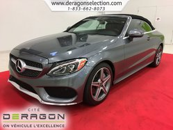 Mercedes-Benz C-Class C300 + 4MATIC + CONVERTIBLE + SPORT PACK + CAMERA  2017