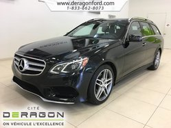 2016 Mercedes-Benz E-Class E400 WAGON AVANTGARDE EDITION PACK TOIT NAV CAMERA