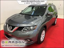 2016 Nissan Rogue S 2.5L 2 ROUES MOTRICES + BAS KILO + AIR CLIMATISE