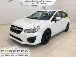 Subaru Impreza 2.0i + AWD + MANUELLE + AUCUN ACCIDENT + BLUETOOTH  2013