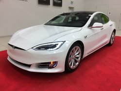 Tesla Model S 90D + CLIMAT HIVERNAL + SUSPENSION À AIR + PREMIUM  2017