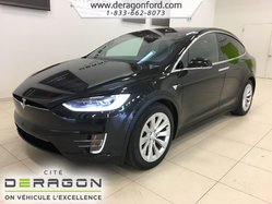 Tesla Model X 90D TOWING PACK AUTOPILOT CLIMAT GLACIAL  2017