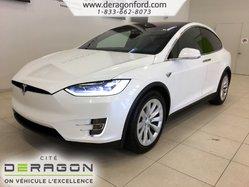 Tesla Model X 75D CLIMAT GLACIAL CHARGEMENT A HAUTE AMPERAGE  2018