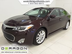Toyota Avalon XLE+CUIR+TOIT OUVRANT+CAMERA+BLUETOOTH+A/C  2013