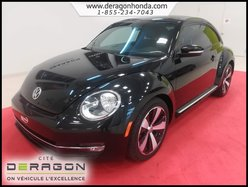 2013 Volkswagen Beetle Coupe TSI SPORT + SEULEMENT 56 315 KM + INTERIEUR CUIR