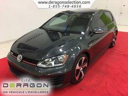 2015 Volkswagen Golf GTI 2.0T + TOIT OUVRANT + AUCUN ACCIDENT + MANUELLE