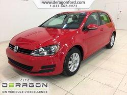 Volkswagen Golf TRENDLINE 1.8 TSI ÉCRAN SIÈGES CHAUFFANTS  2015