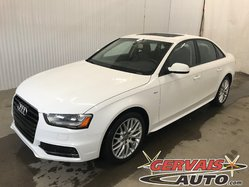 Audi A4 Komfort S Line Quattro Cuir Toit Ouvrant Mags  2015