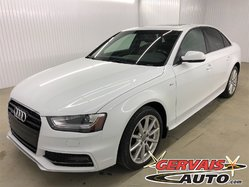 Audi A4 Progressiv S Line AWD GPS Cuir Toit Ouvrant MAGS  2015