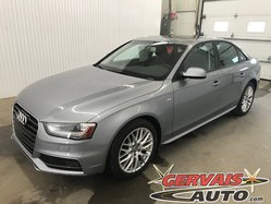 Audi A4 Komfort S Line Quattro AWD Cuir Toit Ouvrant MAGS  2015