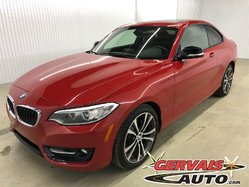 BMW 2 Series 228i xDrive AWD Cuir Toit Ouvrant MAGS  2015
