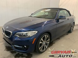 BMW 2 Series 228i xDrive Convertible Cuir GPS MAGS Bluetooth  2015