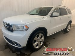 Dodge Durango Limited AWD GPS DVD Cuir Toit MAGS 7 Passagers  2015