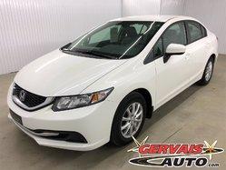 Honda Civic Sedan LX A/C Automatique  2014