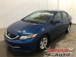 Honda Civic LX A/C Bluetooth *Bas Kilométrage*  2013