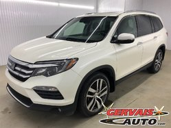 Honda Pilot Touring AWD GPS TV/DVD Cuir Toit Ouvrant MAGS 7 Passagers  2016