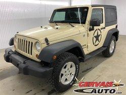 Jeep Wrangler Automatique A/C 4x4 2 TOITS  *Bas Kilométrage*  2011