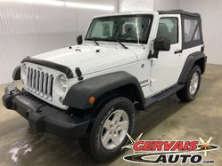 Jeep Wrangler Sport A/C 4x4 MAGS *Comme Neuf*  2017