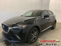 Mazda CX-3 GT AWD Cuir Toit Ouvrant MAGS Bluetooth GPS  2016
