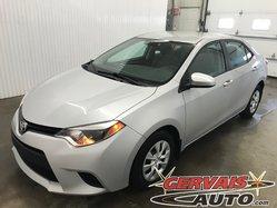 Toyota Corolla CE Climatisation Bluetooth *Bas Kilométrage*  2014