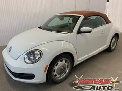 Volkswagen Beetle Convertible Classic Mags GPS Caméra Bluetooth  2016