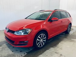 Volkswagen GOLF SPORTWAGEN Comfortline 4Motion Cuir Toit Panoramique Apple Ca  2017
