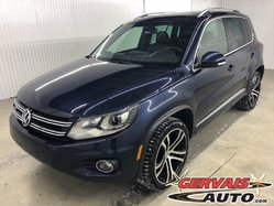 Volkswagen Tiguan Highline R-Line 4Motion GPS Cuir Toit pano MAGS  2017