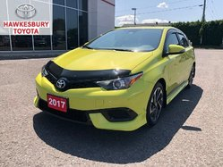2017 Toyota Corolla iM IM ECP 120,000/2024 ONE OWNER LOW KMS WOW