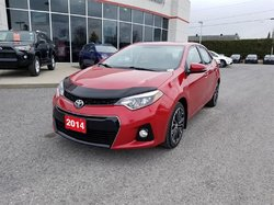 Toyota Corolla S CVT UPGRADE PKG WITH ROOF AND MAGS  2014