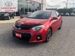 2014 Toyota Corolla S PREMIUM POWER SEATS FULL LEATHER