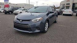 Toyota Corolla LE CVT  2015