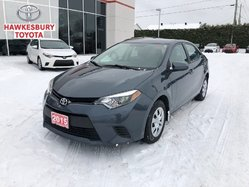 2015 Toyota Corolla CE 6 SPD WITH AC POWER GROUP AND BLUETOOTH