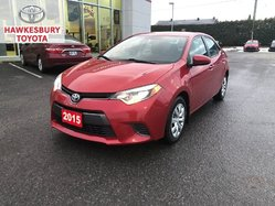 2015 Toyota Corolla LE CVT WITH HEATED SEAT AND BACK UP CAMERA