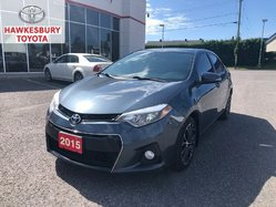 2015 Toyota Corolla S TECHNOLOGY FULL LETHER NAVIGATION MAGS ROOF